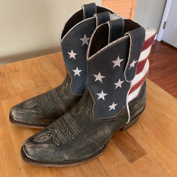 f991ea8c7f2 Roper Women's Cowboy Boots Patriotic 8.5